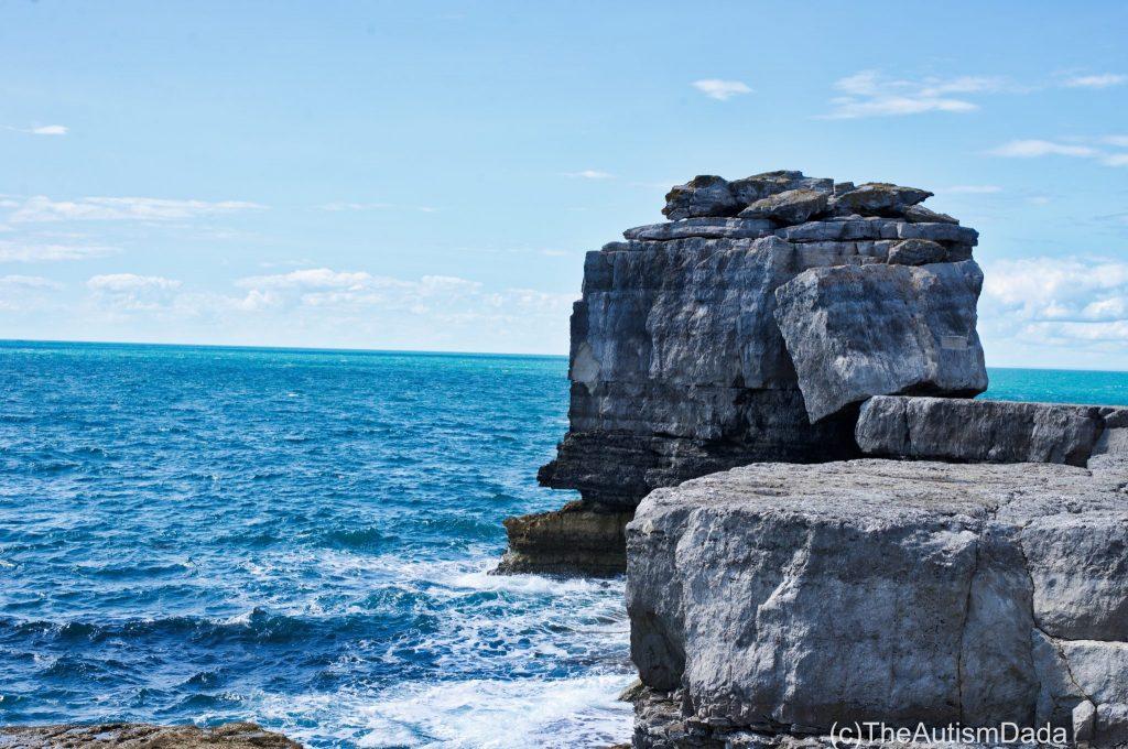Big rock but closer up