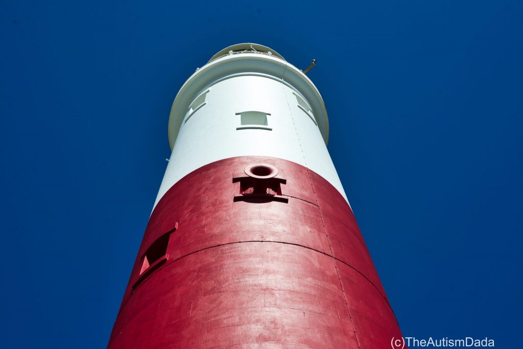 Portland Bill Lighthouse Closeup