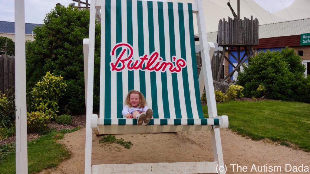 Butlins 2017 - One big chair
