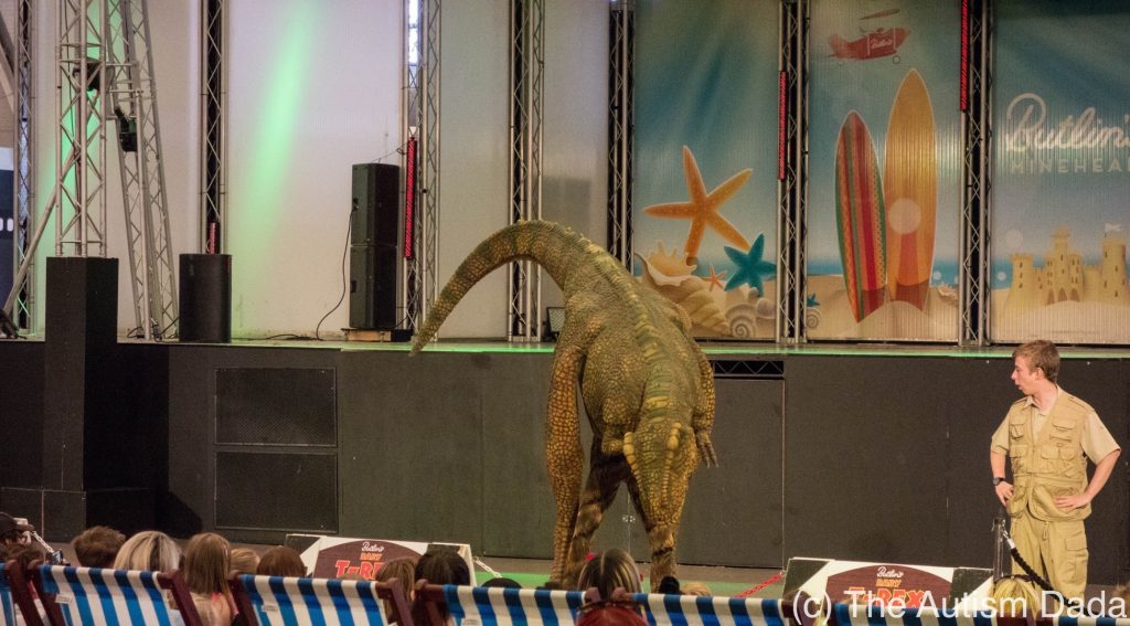 Butlins 2017 - The baby T-Rex