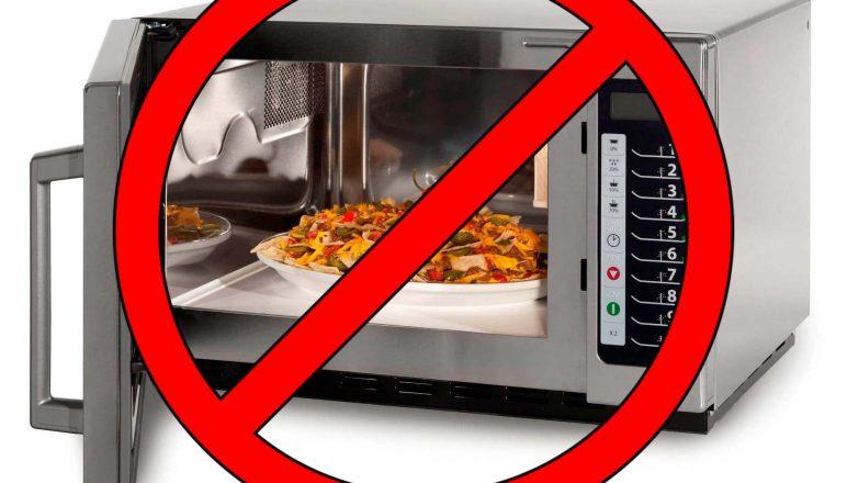 Bye bye microwave