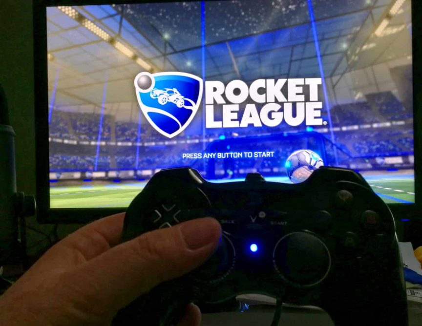 Rocket League on PC