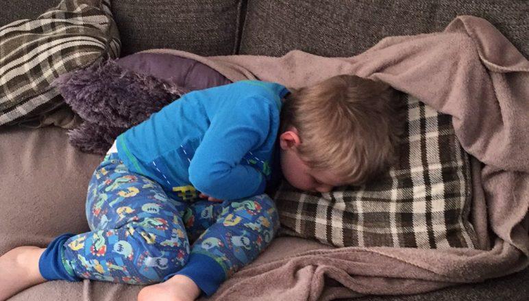 A week of bad sleep patterns