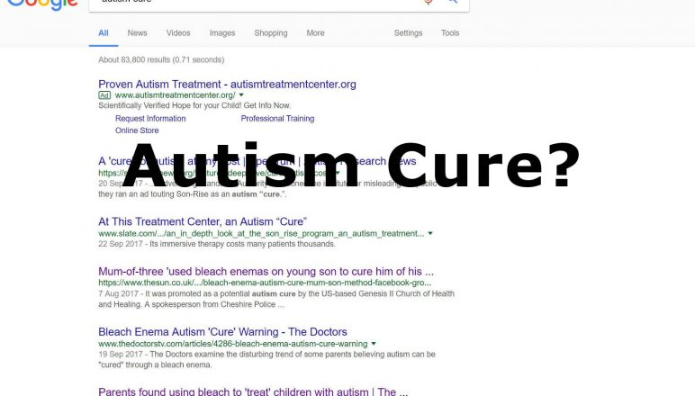 The cure for Autism – Is there one?