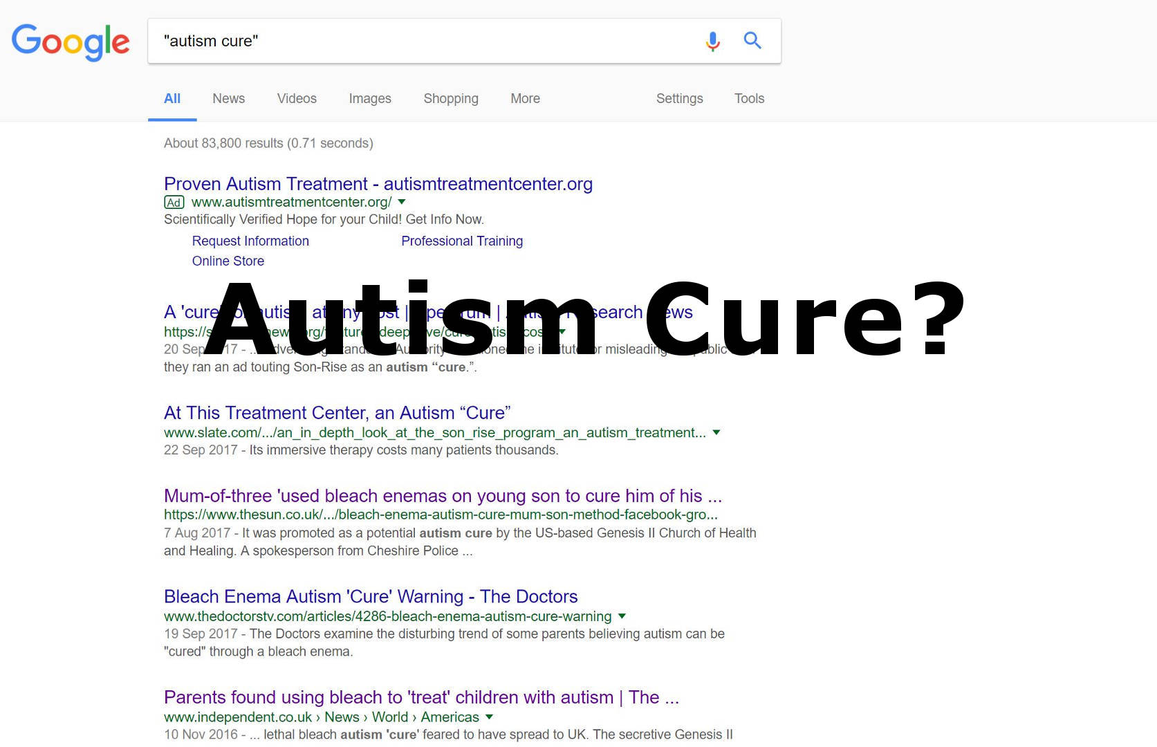 Autism Cure - The Autism DaDa