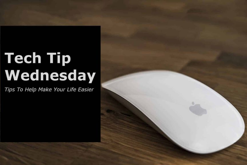 Tech Tip Wednesday