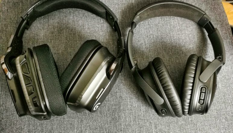 My Logitech G933 And Bose QC35 MkII Headphones Reviews