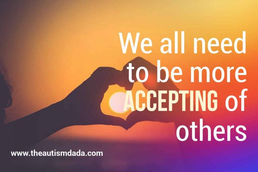 We all need to be more accepting of others