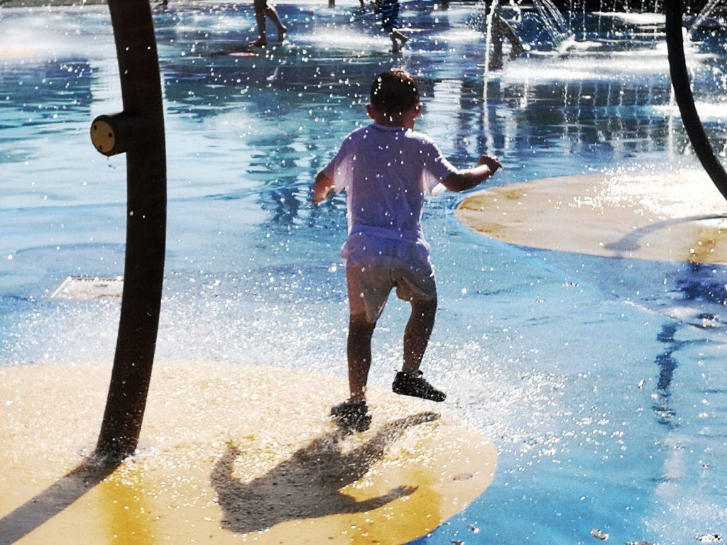 Water Play At Paultons Park